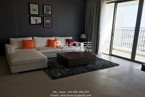 GOOD RENTAL: 2 bedroom apartment with brand new furniture available for rent in District 7