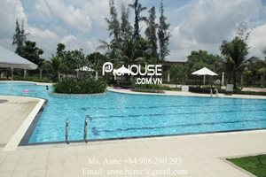 Large size penthouse for rent in Riverside Residence, swimming pool, gym, 4brs, 2 stories