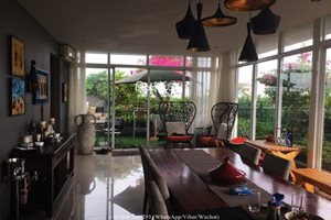 Luxury penthouse with private swimming pool for rent in the center of Phu My Hung