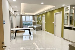 Bright and modern 2 bedroom apartment for rent in District 7 with low rental