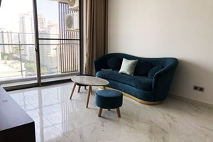 Good rental 2 bedroom apartment in The Grande - Midtown M5 for rent with full furniture