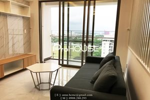 Well-arranged 2 bedroom apartment in Happy Residence for rent, high floor
