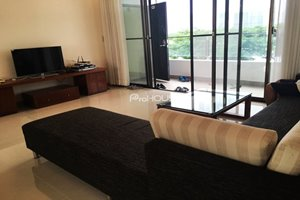 Apartment for rent in Panorama Phu My Hung with beautiful furniture and nice view to the river