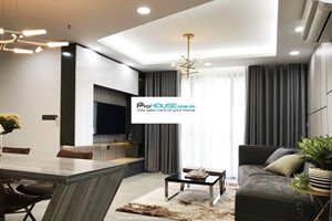 Luxury 2 bedroom in Happy Residence for rent with modern furniture
