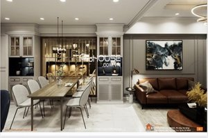 The biggest 3 bedroom apartment in Midtown M7 for rent with river view and luxury furniture