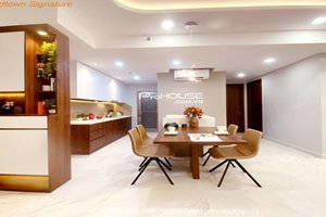 Cheap apartment for rent in District 7 with amazing furniture and very nice view