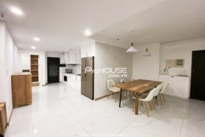 New apartment for rent in Nam Phuc - Le Jardin with neutral color furniture