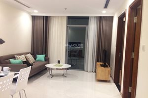 Amazing one bedroom apartment for rent in Vinhomes Central Park, near District 1, full furniture