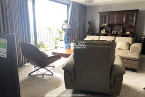 Brand new 4 bedroom apartment for rent in District 7 with full furniture