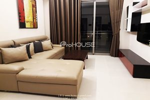 3 bedroom apartment for rent in Happy Residence, full modern furniture, quite view