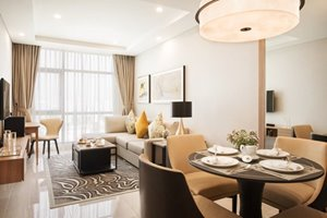1 bedroom in Oakwood Residence for rent with luxury furniture and low rental