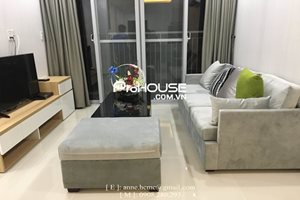 Low price apartment for rent in Phu My Hung center, near Crescent Mall, 2 bedrooms, brand new furniture