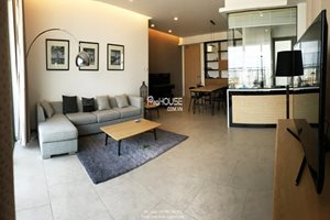 Beautiful apartment: 2 bedroom apartment for rent in District 7, full modern furniture, nice view, high floor