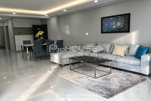 Luxury apartment for rent in Green Valley, big balcony, modern and brand new furniture