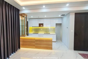Partly furnished 3 bedroom apartment for rent in District 7 with nice view and low price