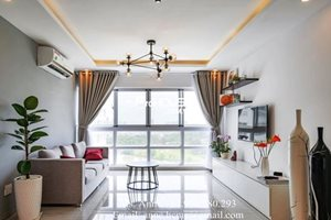 Nice apartment for rent in Happy Valley, golf view, high floor, new furniture
