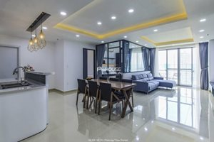 Luxury 3 bedroom apartment for rent in Scenic Valley, near Crescent Mall Phu My Hung
