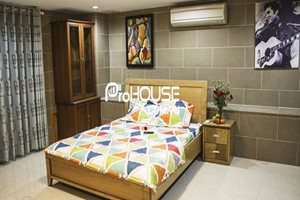 Serviced apartment for rent in District 7, modern design, good service, nice neighbor