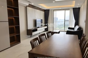 The biggest 3 bedroom apartment in Midtown M7 for rent with full furniture on high floor