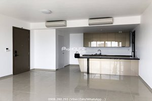 No furniture 4 bedroom apartment for rent in The View Riviera Point with nice view