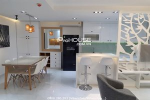 Cheap rent 2 bedroom in Happy Residence - Hung Phuc with full modern furniture