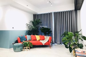 Beautiful Vintage apartment for rent in Midtown Phu My Hung