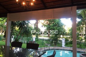 Single villa for rent with private swimming pool in Phu Gia compound