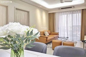 Extremely beautiful 2 bedroom in Happy Residence Premier for rent with luxury furniture
