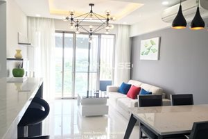 Amazing 2 bedroom apartment for rent in Happy Residence Phu My Hung