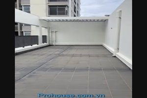 Penthouse for rent in the low-rise building of Star Hill Phu My Hung