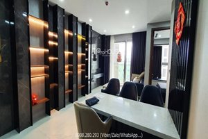 Very low rent 2 bedroom apartment for rent in Phu My Hung with river view and good furniture
