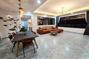 Amazing 3 bedroom apartment in The Panorama for rent with renovated furniture and open kitchen