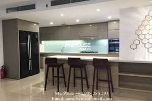 Big size apartment for rent in Happy Valley, District 7, modern design, nice view