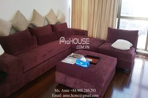 Penthouse for rent in Panorama, Phu  My Hung, 4 bedrooms, full modern furniture, nice view to river