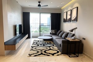 Super nice apartment for rent in Block A of Midtown Phu My Hung having river view