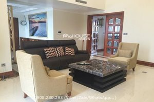 Beautiful penthouse in Phu My Hung for rent with big terrace and 4 bedrooms