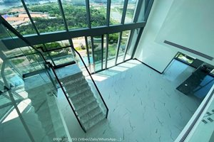 Super nice duplex in Empire City for rent with amazing view to the river