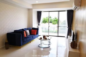 Large balcony apartment for rent on 2nd floor Hung Phuc – Happy Residence