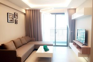 Cheap apartment for rent in District 7 with Western style of furniture