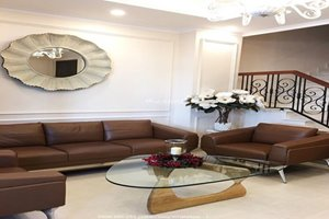 Beautiful villa for rent in Nine South Compound with full modern and new furniture