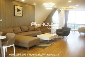 Western style duplex apartment for rent in Phu My Hung District 7
