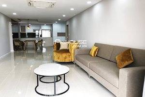 Corner apartment for rent in Nam Phuc Le Jardin, brand new furniture, large balcony with beautiful view
