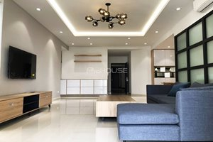 Apartment for rent in block A of Riverpak Premier with large balcony faces to the river