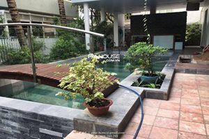 Unfurnished villa for rent in Phu My Hung, modern design, nice swimming pool, nice neighbor, safe area