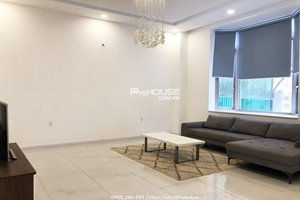 New villa for rent in Phu My Hung with modern furniture and nice location
