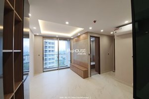 Midtown 2 bedroom with river view for rent with partly furnished modern furniture