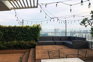 Big penthouse for rent in Phu My Hung center with full furniture 339m2