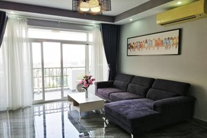 Cheap 3 bedroom apartment for rent in Phu My Hung with nice and modern furniture