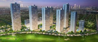 Happy Valley - first residential project opposite to golf course and Scenic River in Phu My Hung