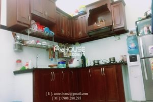 New and good price townhouse for rent in Nha Be, near District 7, full furniture, low rental